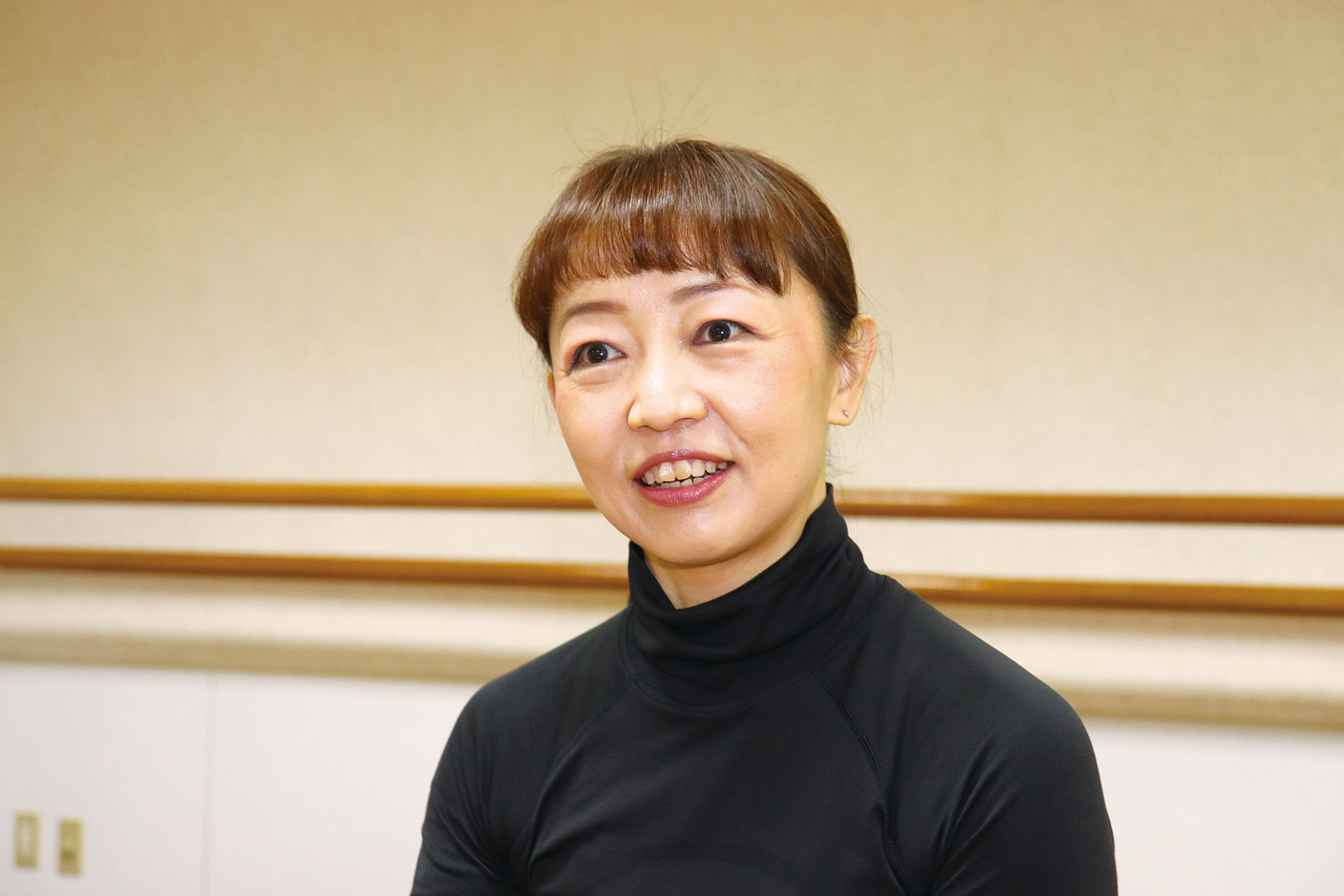 (社) 日本バレエ・ワークアウト協会代表さん 稲垣領子 さん