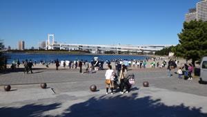 東京ベイ・クリーンアップ大作戦写真