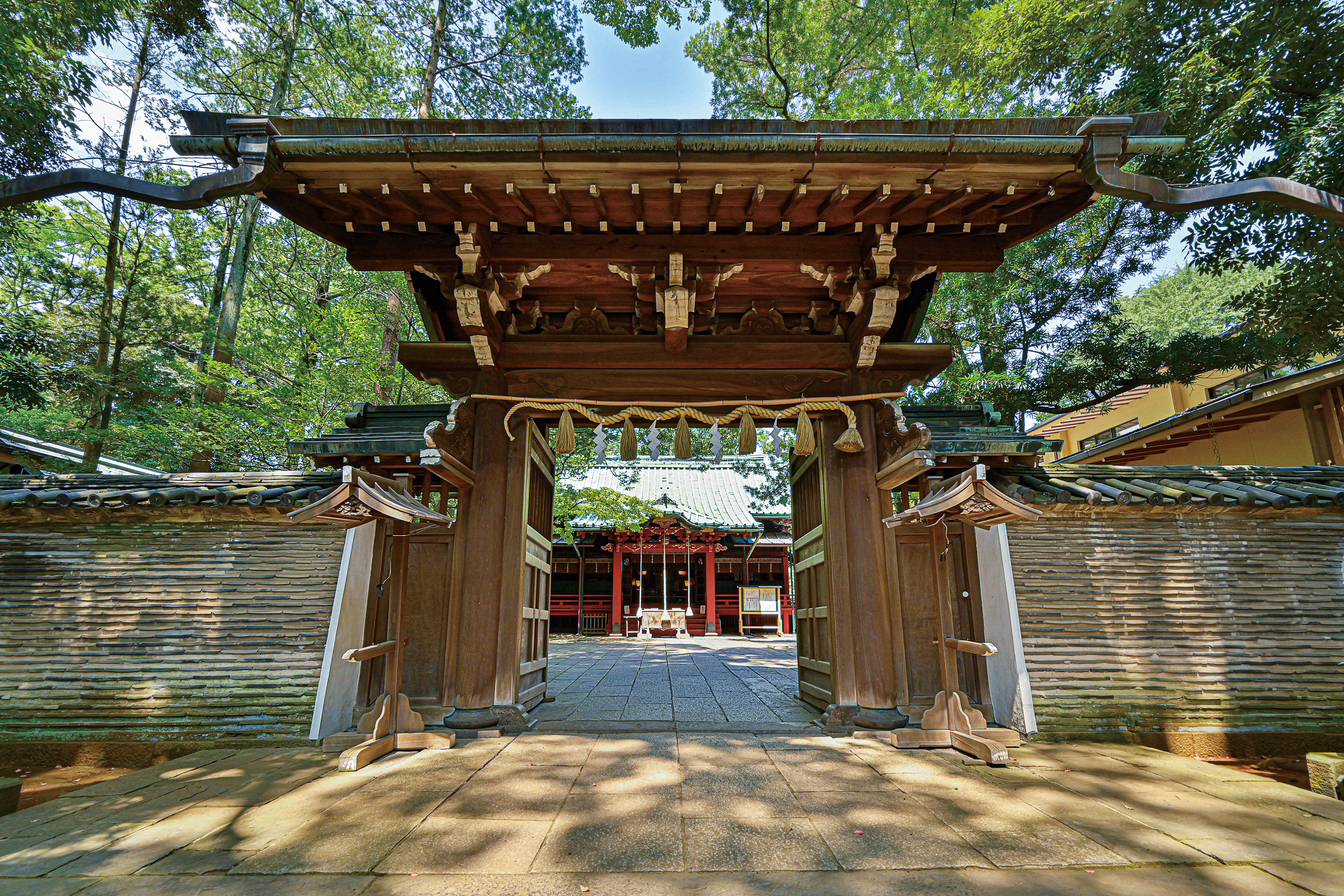 2020年10月号「赤坂氷川神社」