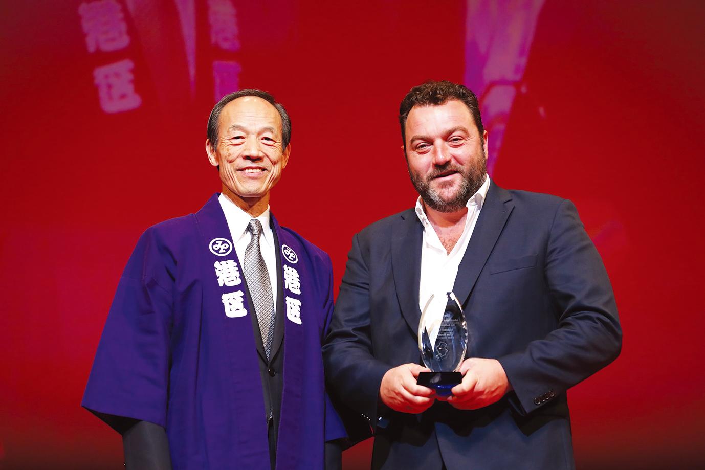 第32回東京国際映画祭観客賞受賞 写真