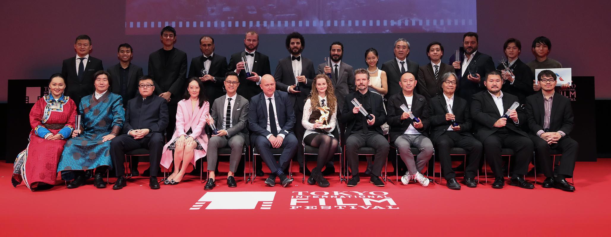 第32回東京高裁映画祭受賞者との記念写真