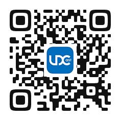 UDCast QRコード