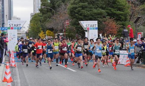 MINATOシティハーフマラソン